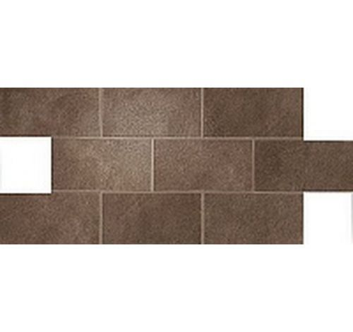 Dwell Brown Leather Brick Lappato
