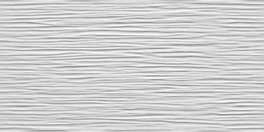 3D Wave White Glossy 40x80