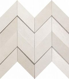 Dwell Off-White Chevron 3D