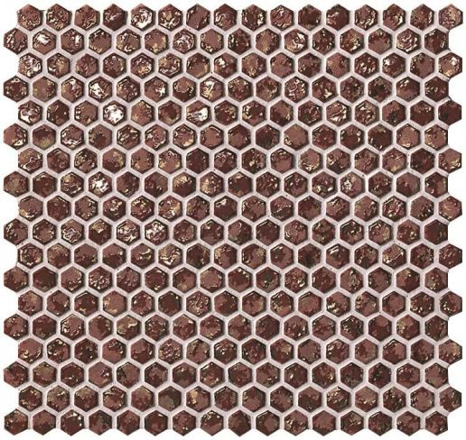 Dwell Rust Hexagon Gold